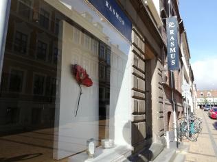 fachada de la galería en Odense
